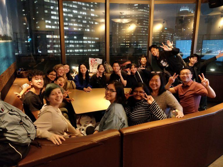 Ideal students karaoke in Japan 2018