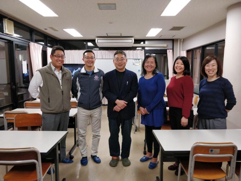 Ernie and Lu with Y-Ko teachers in Japan
