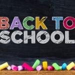 Back to School – September 2021